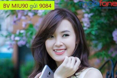 Đăng ký gói MIU90 MobiFone chỉ với 90.000đ sử dụng 30 ngày