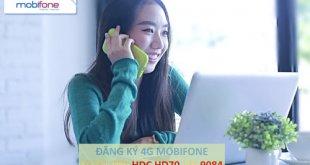 Đăng ký 4G MobiFone mới nhất