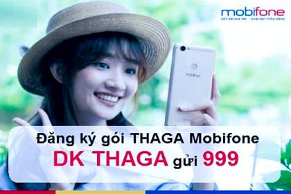 Đăng ký gói cước 4G THAGA MobiFone có ngay 60GB Data tốc độ cao