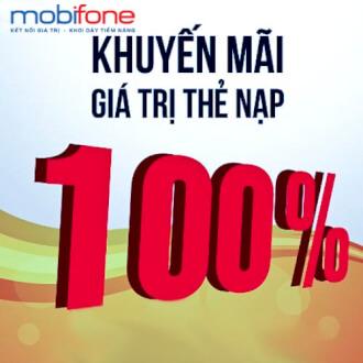 Khuyến mãi 50% giá trị thẻ nạp MobiFone ngày 06/02/2018