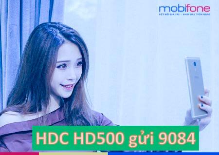 Đăng ký gói cước HD500 MobiFone chỉ với 500.000đ/tháng