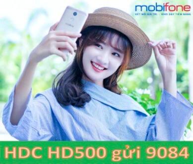 Gói cước HD500 MobiFone  nhận ngay 55 GB tốc độ cao