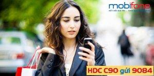 Đăng ký gói cước 4G C90 MobiFone chỉ với 3.000đ/ngày
