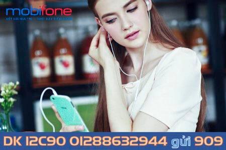 Nhận ngay ưu đãi khủng khi đăng ký gói C90 MobiFone 12 tháng