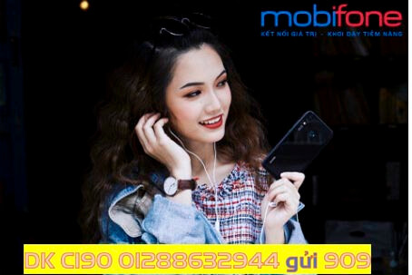 Ưu đãi tới 60GB Data và 100 phút thoại ngoại mạng khi đăng ký thành công gói C190 của MobiFone