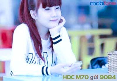 Đăng ký gói cước M70 MobiFone giá 70.000đ