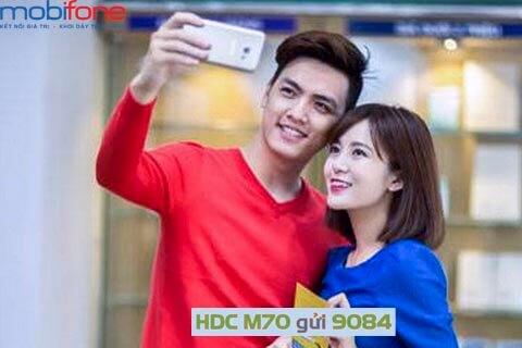 Đăng ký gói cước M70 MobiFone có ngay 3.8 GB Data tốc độ cao