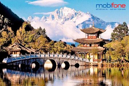 Đăng ký dịch vụ chuyển vùng quốc tế MobiFone khi đi Trung Quốc giá siêu rẻ