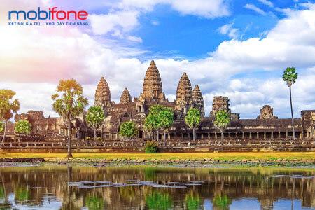 Đăng ký gói cước chuyển vùng quốc tế MobiFone sang Campuchia chỉ từ 100.000đ