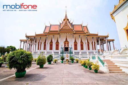 Gói cước CVQT MobiFone đi Campuchia giá rẻ - được nhiều người đăng ký