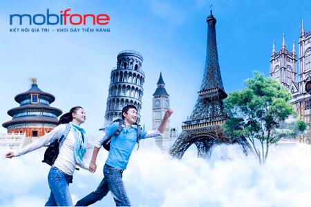 Đăng ký gói cước gọi quốc tế đi Mỹ Thuộc mạng MobiFone