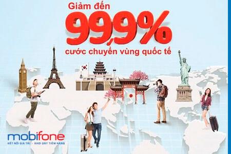 Đăng ký gói cước gọi quốc tế đi Mỹ mạng MobiFone tiết kiệm tới 99% tiền cước