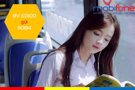 Đăng ký gói cước ED100 MobiFone học online thả ga